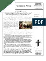 Hometown News October - Nazareth Lutheran Church Newsletter