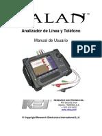 Manual Analizador Líneas Telefónicas Fijas - Talan