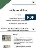 The German eID-Card by Jens Bender