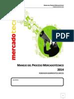 Manual de Manejo Del Proceso Mercadotécnico