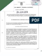 decreto 1090 de 2018