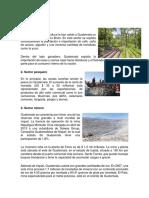 Actividades Economicas Importantes en Guatemala