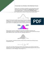 Z tabel Mengenal Distribusi Normal dan Cara Membaca Tabel Distribusi Normal.docx
