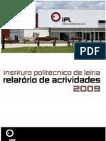 Relatorio Actividades Ipl_2009_versao Final