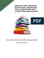 About Decriptive Text