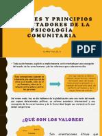 Valores y Principios Orientadores de La Psicología Comunitaria