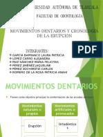 Mov. dentarios y cornologia de la erupcion.pptx