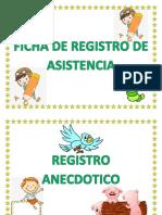 Ficha de Registro de Asistencia