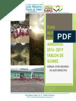 Plan de Educacion Ambiental Tablon 2016-2019