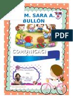 Caratula Sara a Bullon 2018