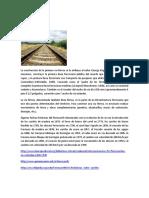 Antecedentes (Lineas Ferroviarias )
