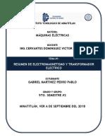 Máquinas Eléctricas unidad 1