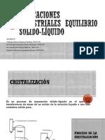 EQUILIBRIO SOLIDO-FLUIDO