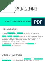 Telecomunicaciones - Clase 1