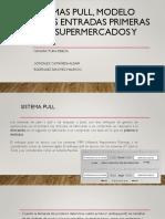 Sistemas pull, método de entradas FIFO lane, supermercados y Kanban