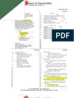 Erica Johnson Seck Deposition Vol 2 Highlighted