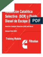 Reducción Catalítica Selectiva (SCR) y Fluido Diesel de Escape (DEF)
