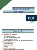 Selección y Diseño de Procesos
