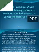 Haz Waste Online Training