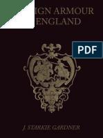Starkie, Gardner J. -- Foreign Armour in England 1898