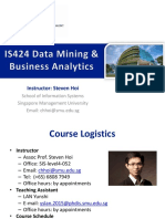 Course Outline - Data Mining