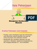 Analisis Pekerjaan Eti