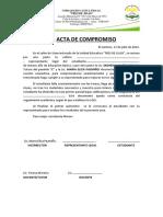 ACTA de Seguimiento