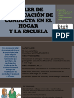 TALLER DE MODIFICACIÓN DE CONDUCTA EN EL HOGAR PPT.pptx