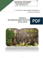 Proiect de Dezvoltare