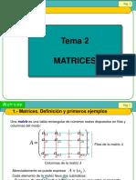 Clases de Matrices (2015-II)