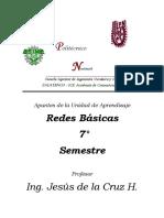 Apuntes de Jesus de la Cruz Redes Basicas
