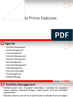 Oracle Prime Features