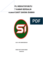 Profil Indikator Mutu Kamar Bersalin