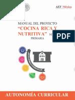 Cocina Rica y Nutritiva Primaria v0