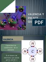 Valencia y Enlace Químico