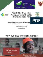 Peran Dokter Umum Utk Kanker Di Fasyankes