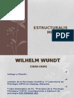 Wundt estructuralismo