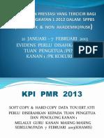 Kemasukan Prestasi Yang Tercicir Bagi Murid Tingkatan 1 2013
