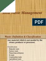 Gp 13 Solid Waste Management