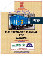 Revised Wagon Maintenance Manual