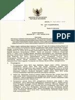 SE Kab-Kota Petunjuk Teknis Penganggaran, Pelaksanaan Dan Penatausahaan Serta Pertanggungjawaban Dana Operasional Sekolah Satdikdas Negeri (1)