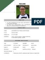 Alif Resume
