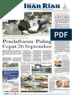 Epaper Haluanriau Edisi Kamis, 20 September 2018