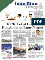 Epaper Haluanriau edisi, 22 September 2018