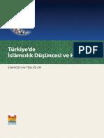 Turkiye'de Islamcilik Dusuncesi Sempozyum