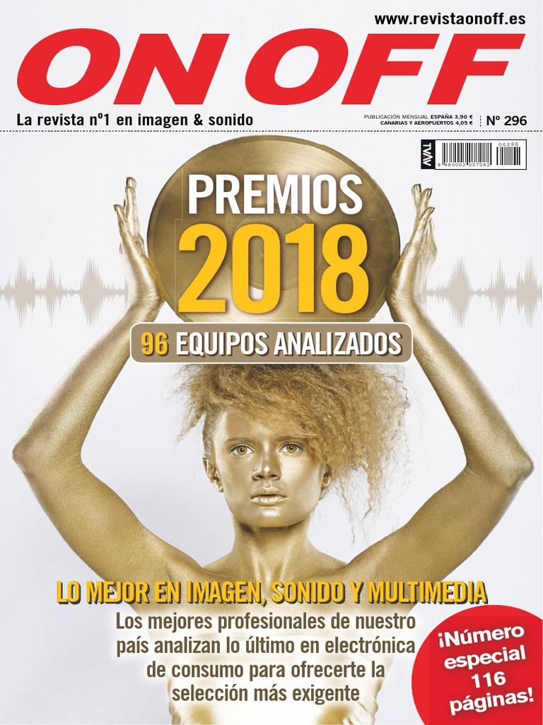 On Off - 296 - Noviembre 2017 | Disco compacto | Ingenieria Eléctrica
