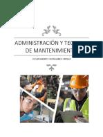 Administración y Tecnicas de Mantenimiento Nuevo Para Revisión 1