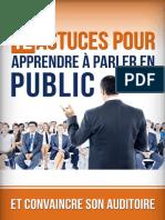 12 Astuces Pour Parler en Public