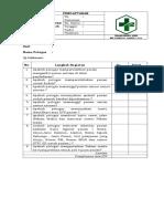 Format Daftar Tilik SOP PENDAFTARAN.doc