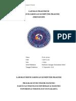 Laporan Praktikum - Jaringan Komputer Kabel UTP